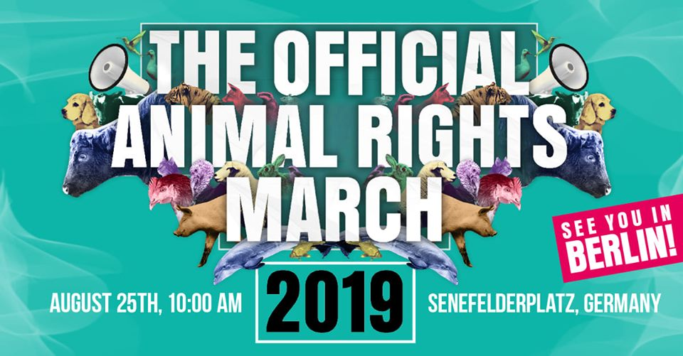 Tierrechte: Demo in Berlin am 30. August 2019